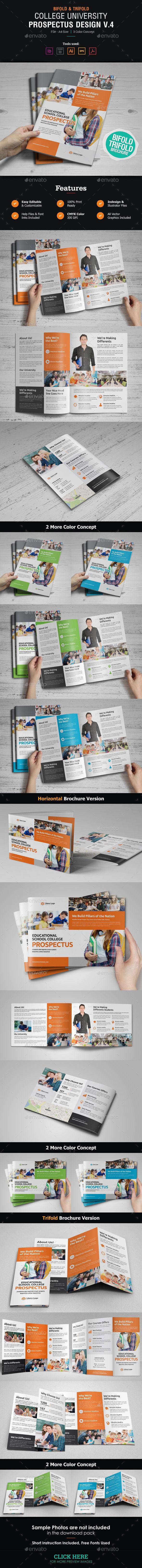 College University Prospectus Brochure V  Brochures Brochure