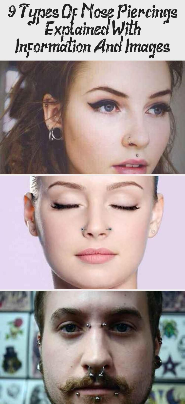 Photo of 9 Types Of Nose Piercings Explained With Information And Images – PIERCINGS –  D…