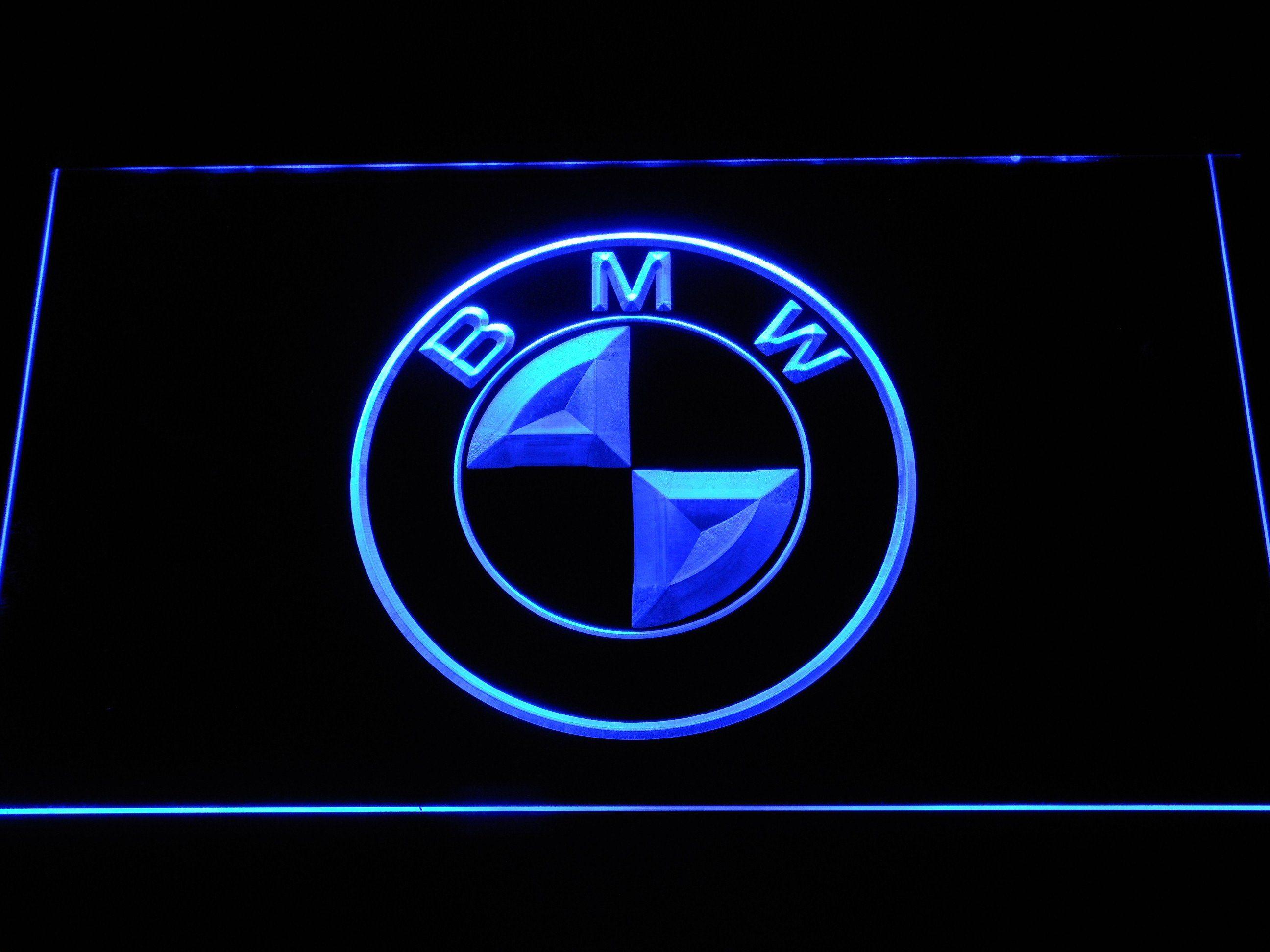 Bmw Logo Led Neon Sign Bmw Logo Bmw Led Neon Signs