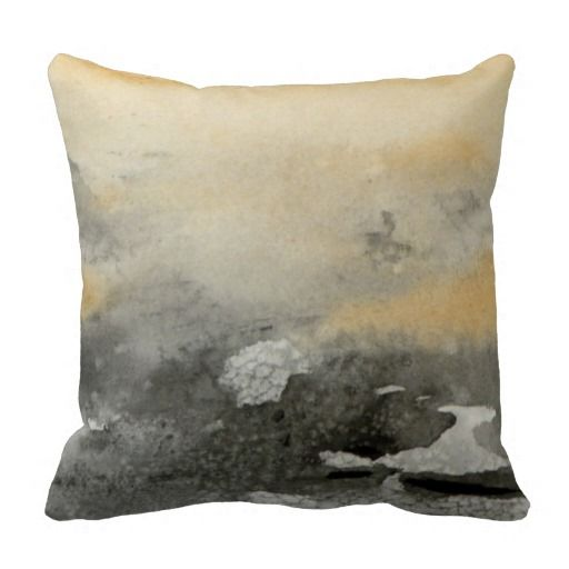 Hand Painted Abstract Art Contemporary Pillow Contemporary Pillows Abstract Art Painting Pillows