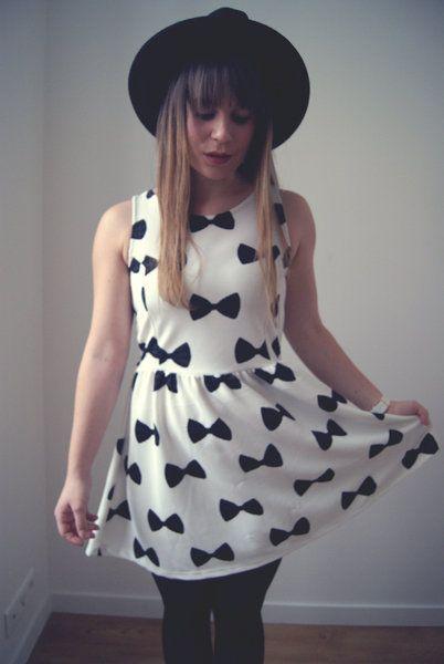 My H&M dress by Vilaine_fille_