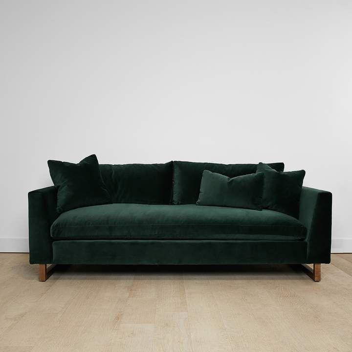 Awe Inspiring Devon Velvet Sofa Green In 2019 Products Velvet Sofa Evergreenethics Interior Chair Design Evergreenethicsorg