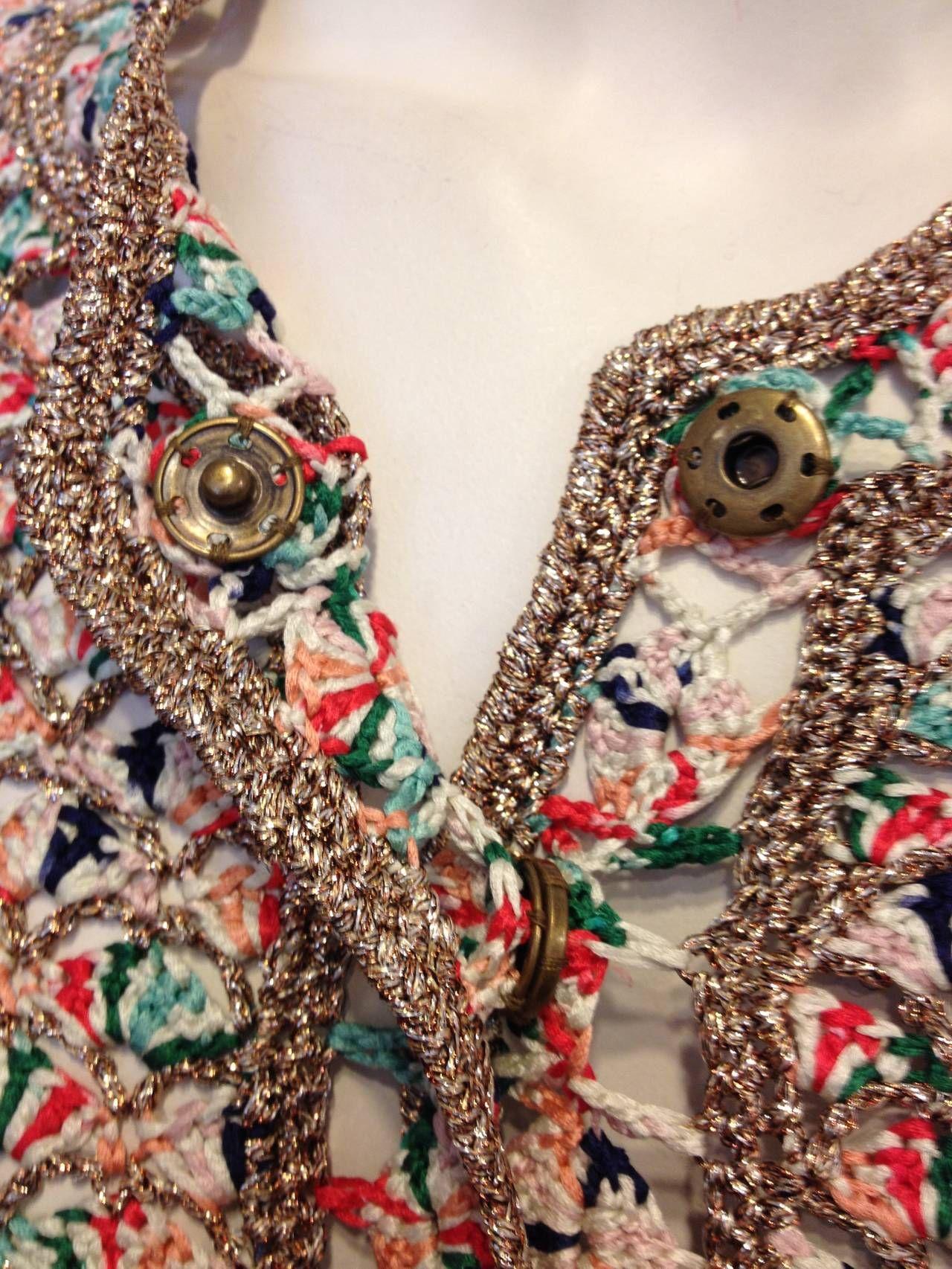 Crochet from Oscar de la Renta.
