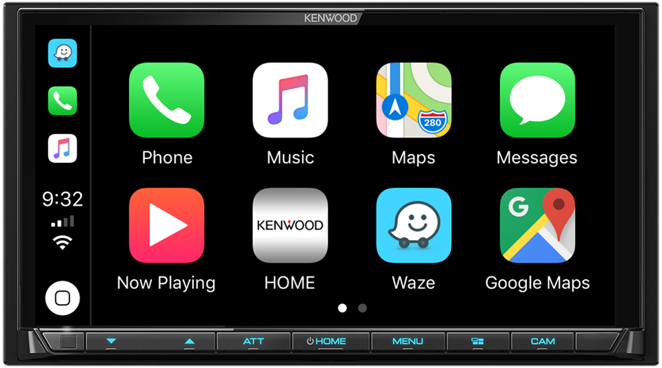 Waze & Google Maps are now available for Apple CarPlay. Be