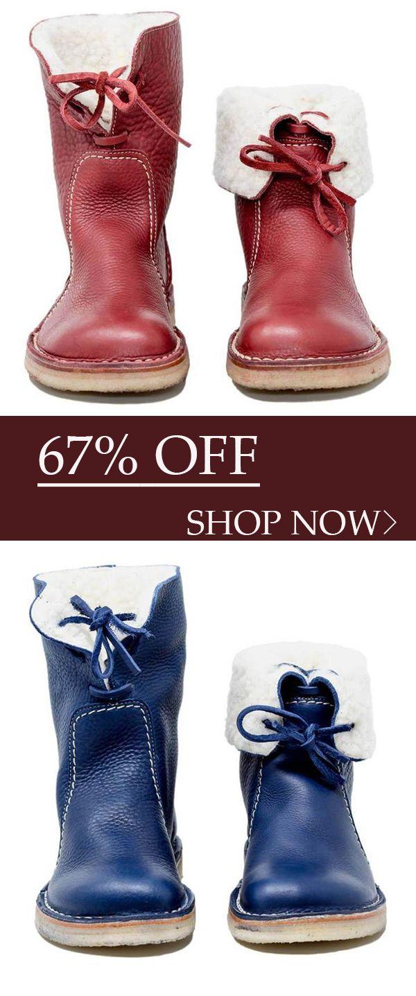Hot Sale!Women Casual Vintage Boots
