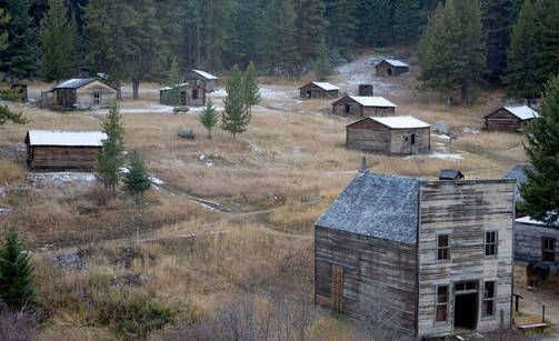 Kahdeksan amerikkalaista aavekaupunkia, Garnet, Montana