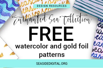 Enchanted Sea Patterns Free Samples /Volumes/Marketing/_MOM/Design Freebies/Free…