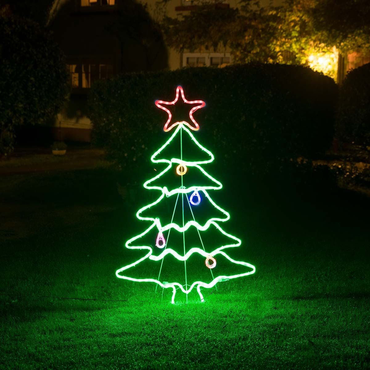 Christow Led Christmas Tree Rope Light 1 14m Led Christmas Tree