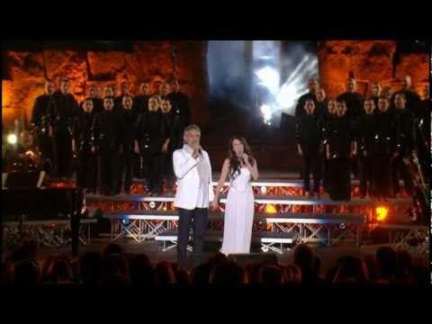 Andrea Bocelli Sarah Brightman Con Te Partiro Time To Say