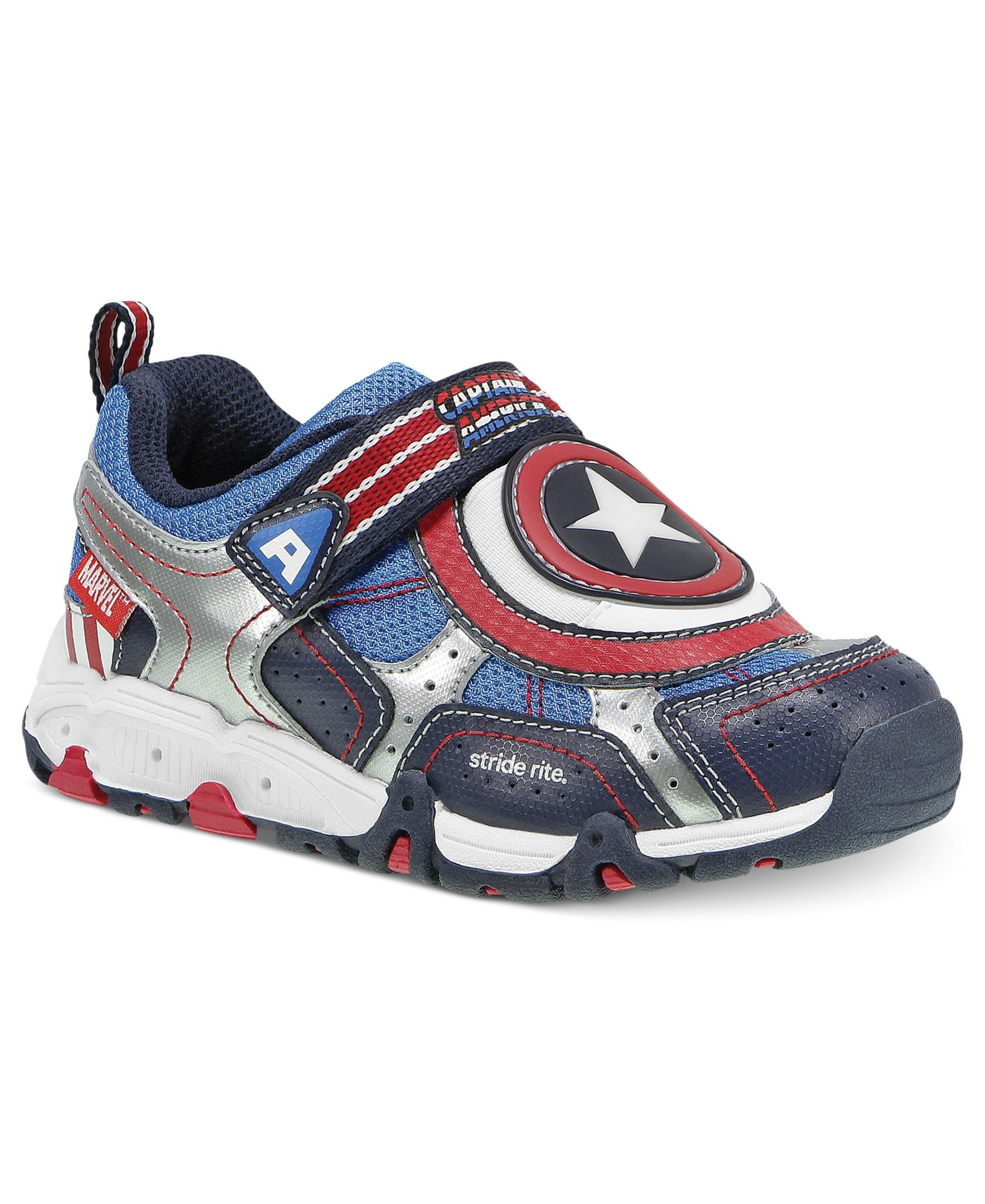 Stride Rite Kids Shoes Boys or Little Boys Captain America Lighted