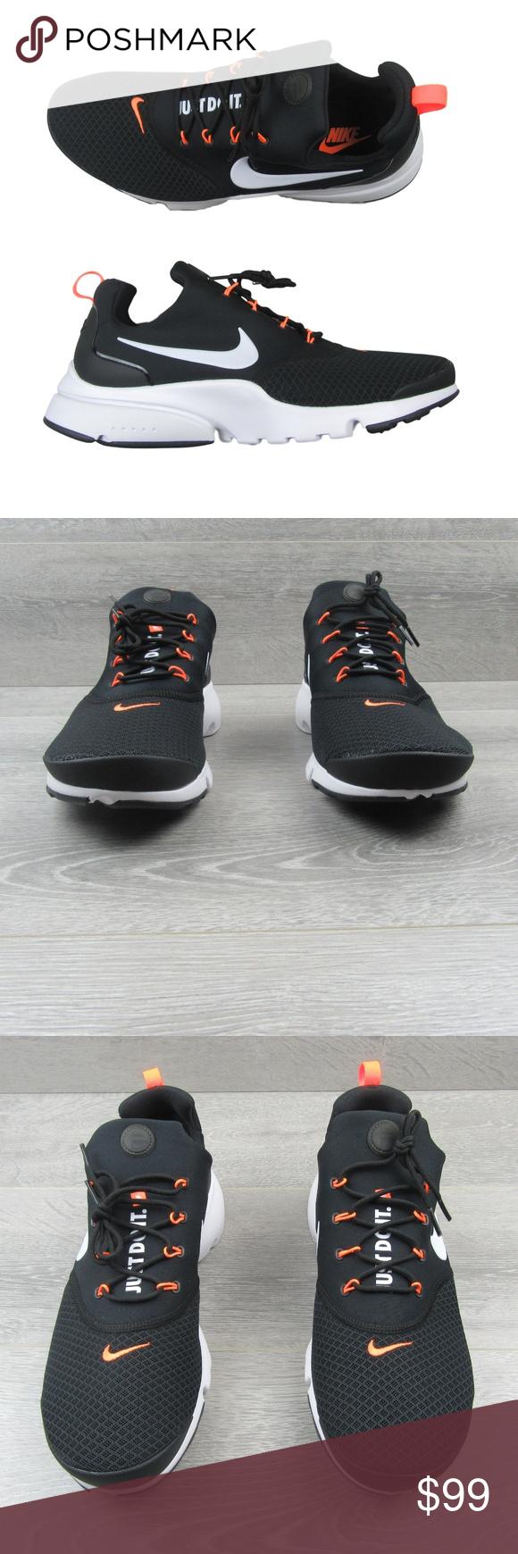 99fc0db99c9 Nike Presto Fly JDI Black Running Shoes Nike Presto Fly JDI