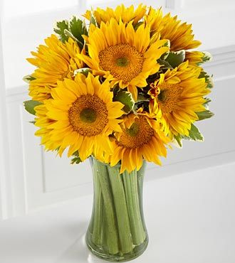 Endless Summer Sunflower Bouquet Sunflower Arrangements Sunflower Bouquets Sunflower Centerpieces
