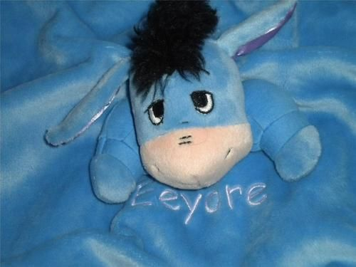 Disney Winnie The Pooh S Eeyore Plush Security Blanket