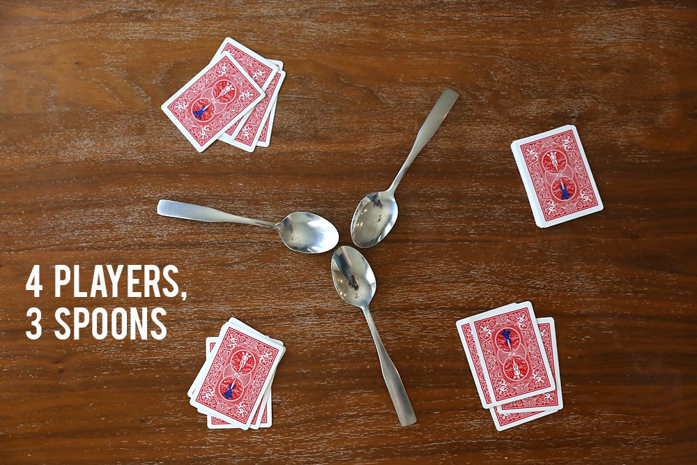 How To Play Spoons Easy Hilarious Card Game How To Play