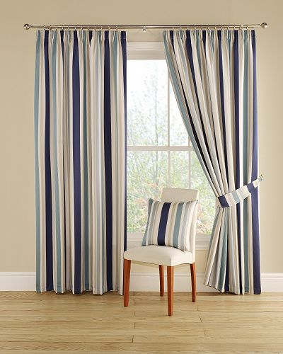 A fun and vibrant multi-coloured vertical stripe, adding a lively look to your room. From just £35.70