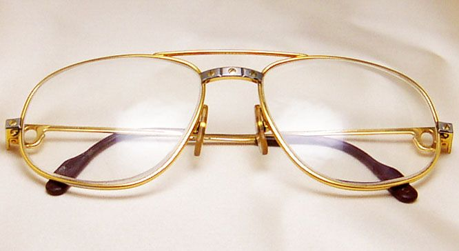 c9e00e63d1 Cartier Men s Aviator Sunglasses Eyeglasses Frames ! Very rare ...