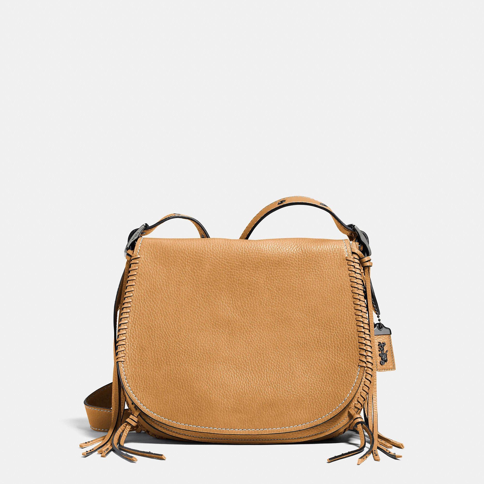 9047540eb528 COACH Whiplash Saddle Bag In Leather.  coach  bags  leather ...