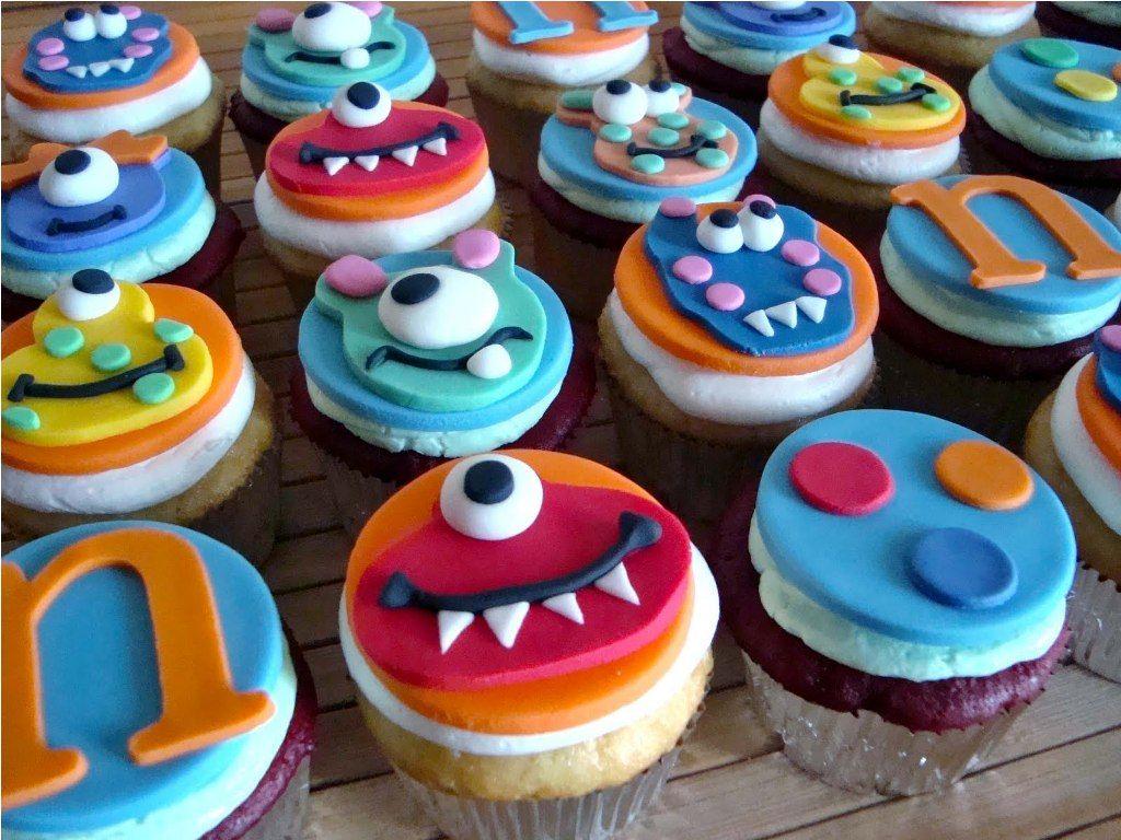 Cupcake Decorating Ideas For Boys 1st Birthday 1st