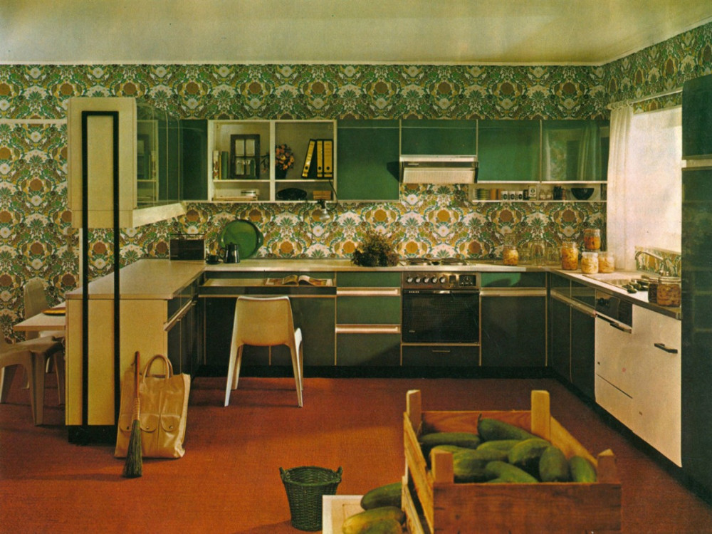 Photos: Before avocado toast, the young people of the 1970s were buying avocado kitchens