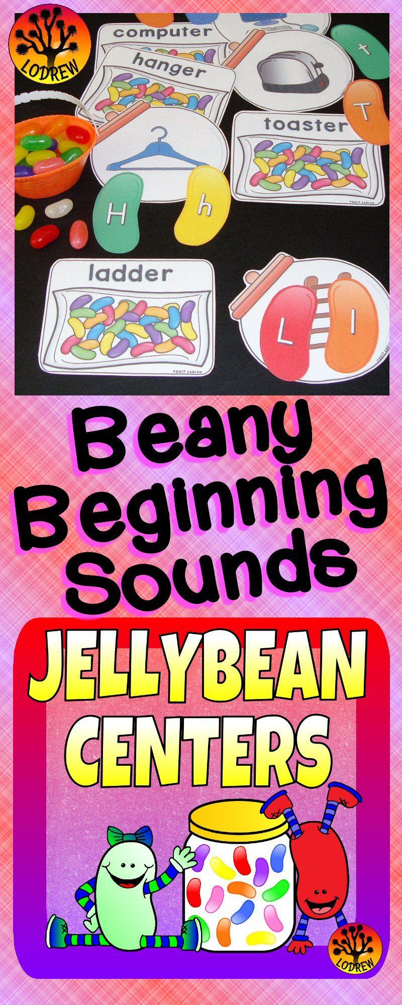 Jellybean Jelly Bean Centers Spring Activities Literacy Math Easter ...