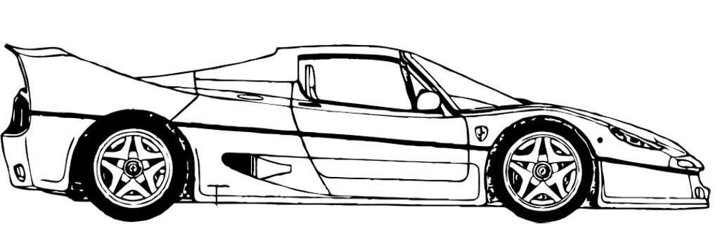 Ferrari California Coloring Page - Ferrari car coloring pages - best of coloring pages of a sports car