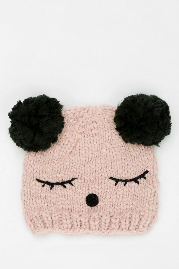 gorrito de oso panda   Gorros tejidos Bebés Niños   Pinterest ...