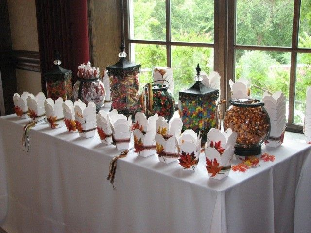 Ideas For Candy Bar At Wedding Reception