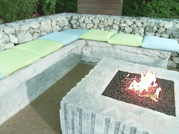 15 outstanding cinder block fire pit design ideas for for How to build a fire pit with concrete blocks