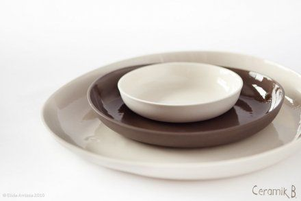 Plates by Basma Osama, ceramiste ceramikb.com