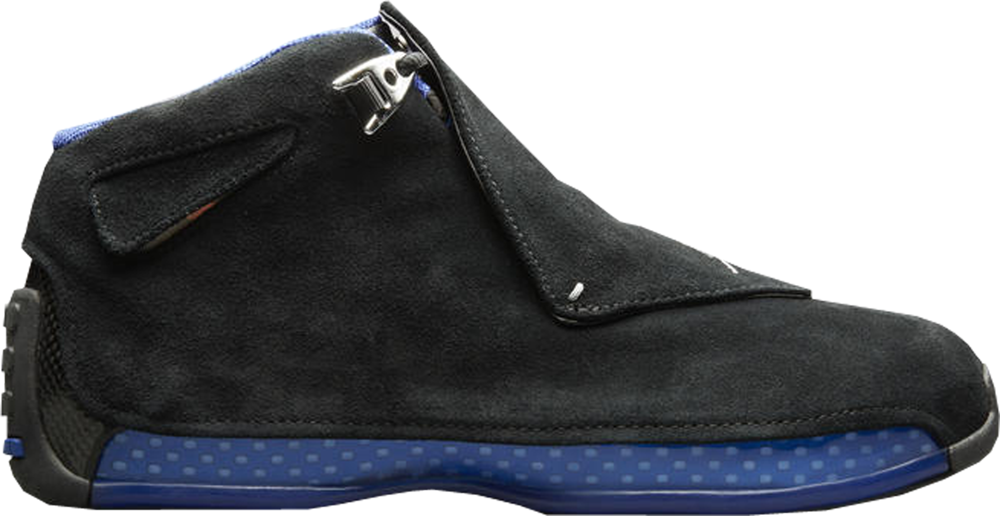 5e52610a01b865 Check out the Jordan 18 Retro Black Sport Royal available on StockX