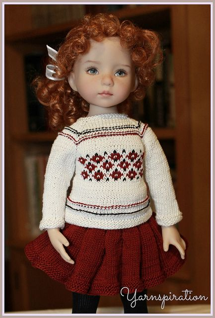 Dianna Effner Little Darling by yarnspiration, via Flickr