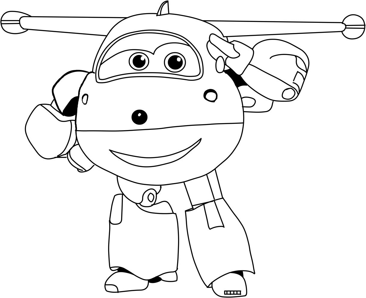 Super Wings Coloring Pages For Kids Printable Com Imagens