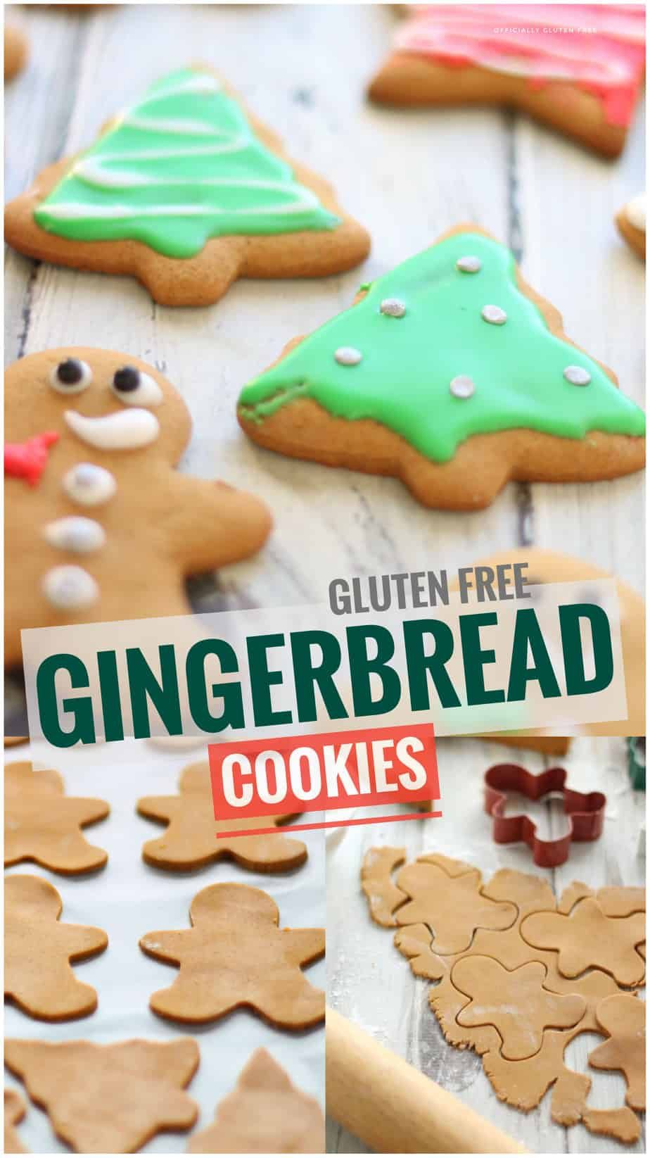 Gluten Free Gingerbread Cookies | Soft Gingerbread Cookie Recipe