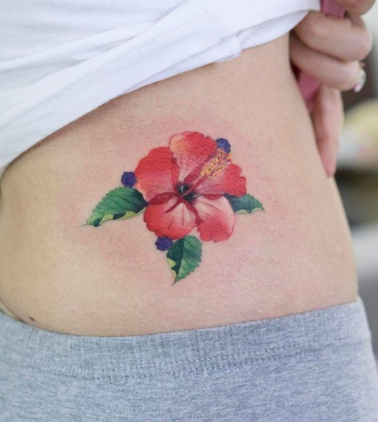 50 Tattoos By Zihee Tattoo From Seoul Thetatt Hibiscus Tattoo Hibiscus Flower Tattoos Tattoos For Women Flowers