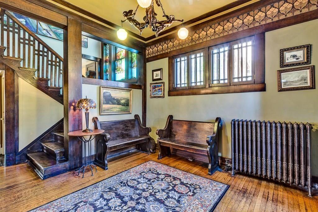 Interior, Staircase In House Built Cir 1912 1415 Hawthorne St, El Paso, TX  79902