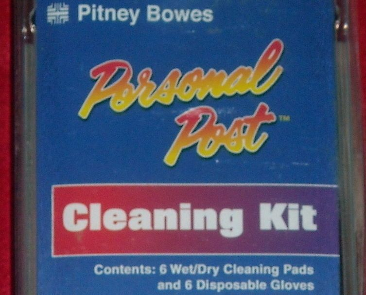 Personal Post Pitney Bowes Cleaning Kit #PitneyBowes
