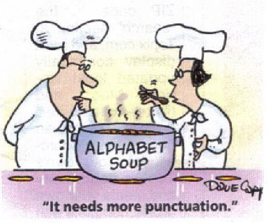 Mystery Fanfare Cartoon of the Day Punctuation Cartoons
