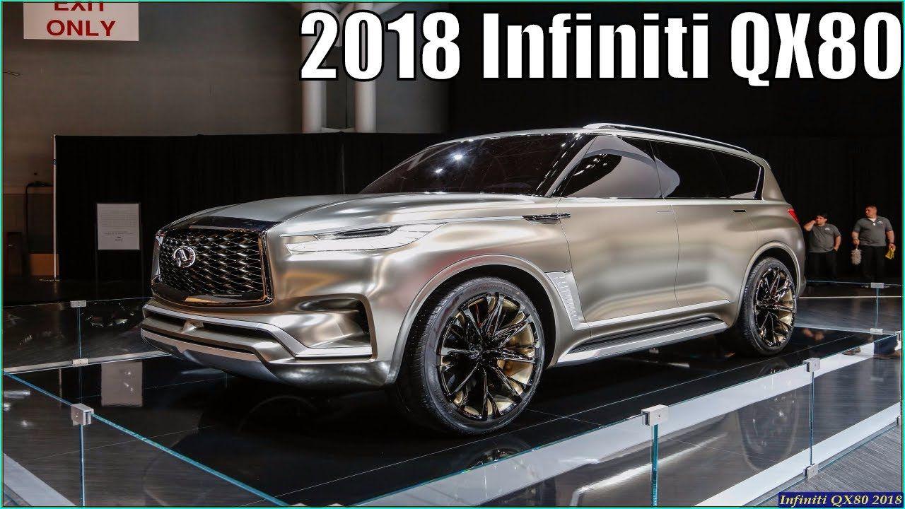 Infiniti Qx80 2018 New 2018 Infiniti Qx80 Monograph In 2020 Suv Infiniti New Cars