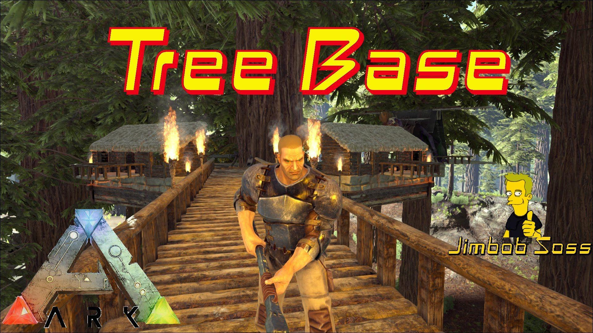 Ark Tree House Base Ark Survival Evolved Bases Ark Survival