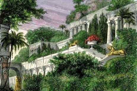 168add5b9ac34f8797f6af951886b594 - Seven Wonders Of The Ancient World Hanging Gardens
