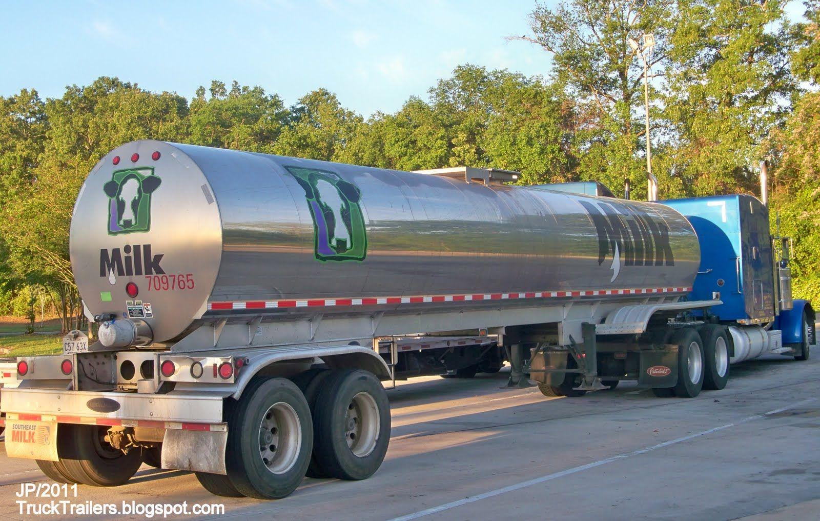 Southeast Milk Truck Florida Tanker Bellview Fl Drink Florida