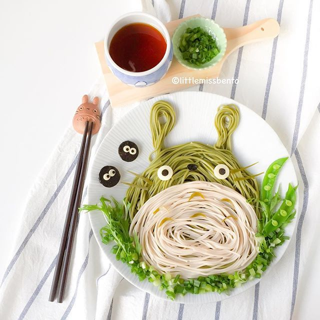 Need to eat clean? Wouldn't #Totoro chasoba noodles be perfect? Happy mid week everyone. トトロの茶蕎麦です。 可愛いし、美味しかったです。 良い一日を〜 #soba #sobanoodles #chasoba #noodles #japanese #eatclean #studioghibli #myneighbortotoro #foodart #littlemissbento #kurashiru #buzzfeedfood #thefeedfeed #delistagrammer #kawaii #cutefood #トトロ #そば #可愛い #日本料理 #和食 #手作り