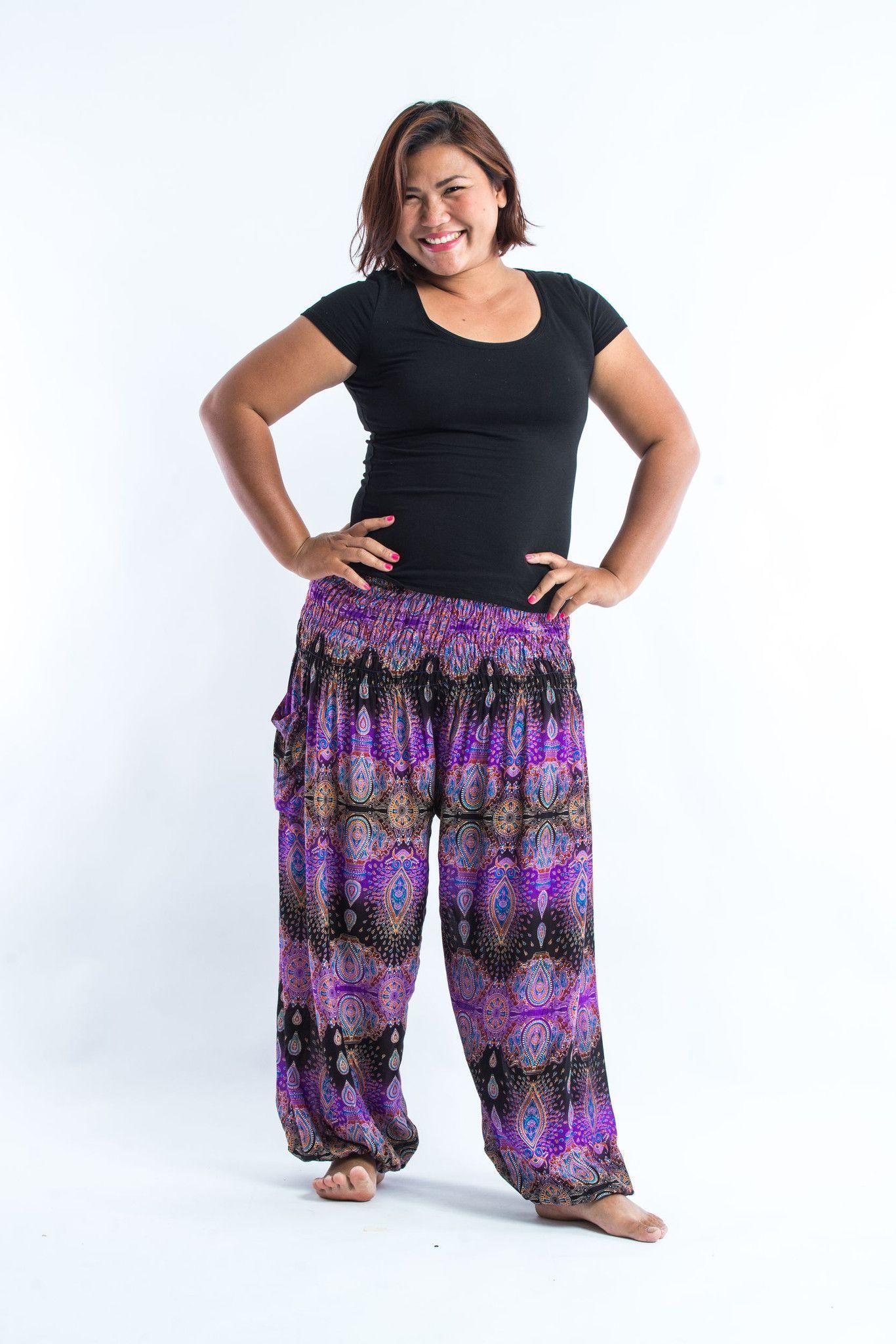 Plus Size Boho Pants Outfit