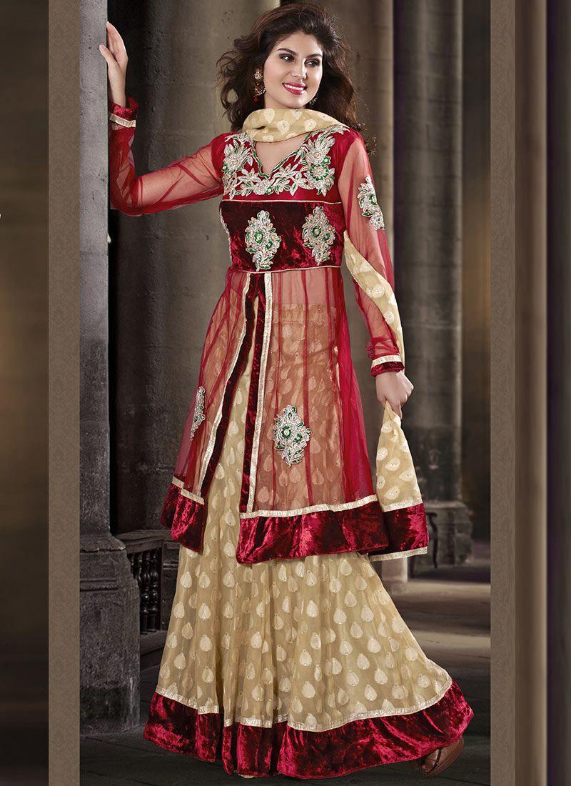 Gorgeous net lehenga choli clothesethnic wear pinterest