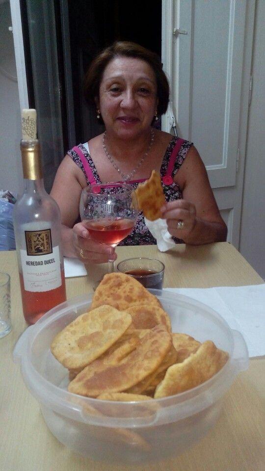 Sopaipillas de calabaza receta chilena ideal para los dias de lluvia...