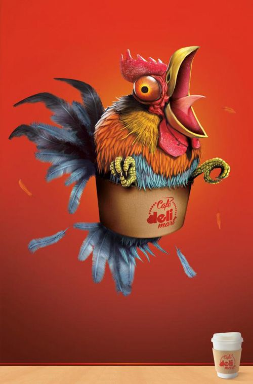 Deli Mart: Gallo Print Advertising | Art & Illustrations ...