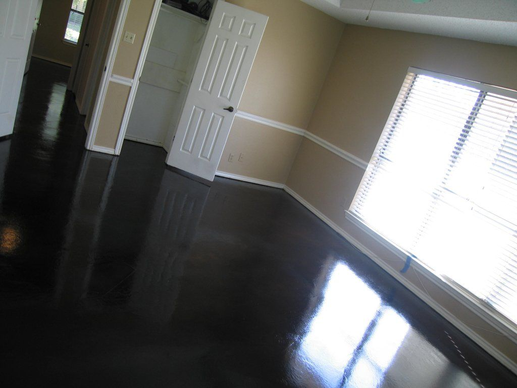 black stained concrete floors. Polished Dark Stained Concrete Floors For Home Floor Design Google Image Result for http www vividconcrete com images