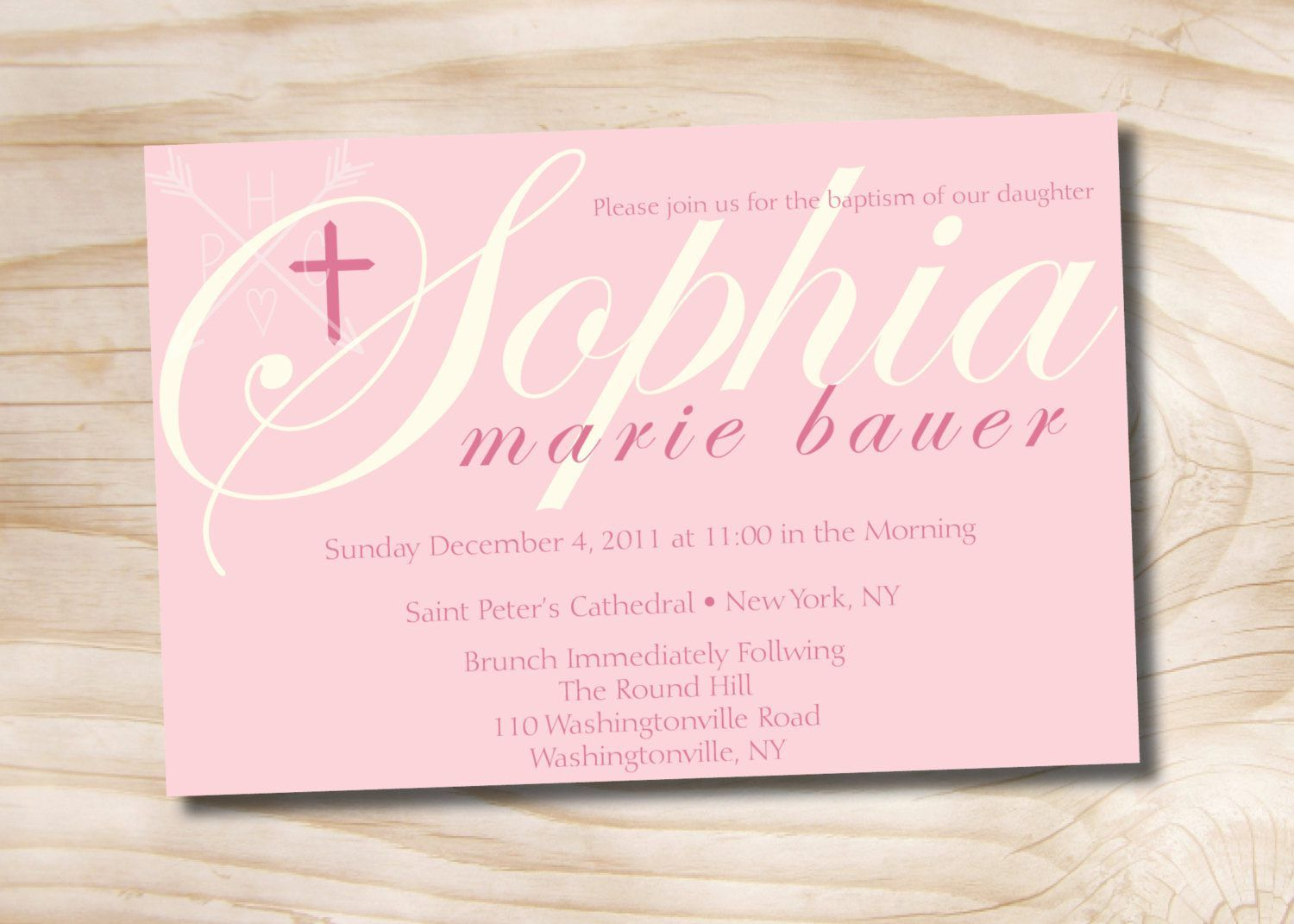 Baptism Invitation Cards Baptism Invitation Cards Wording Superb