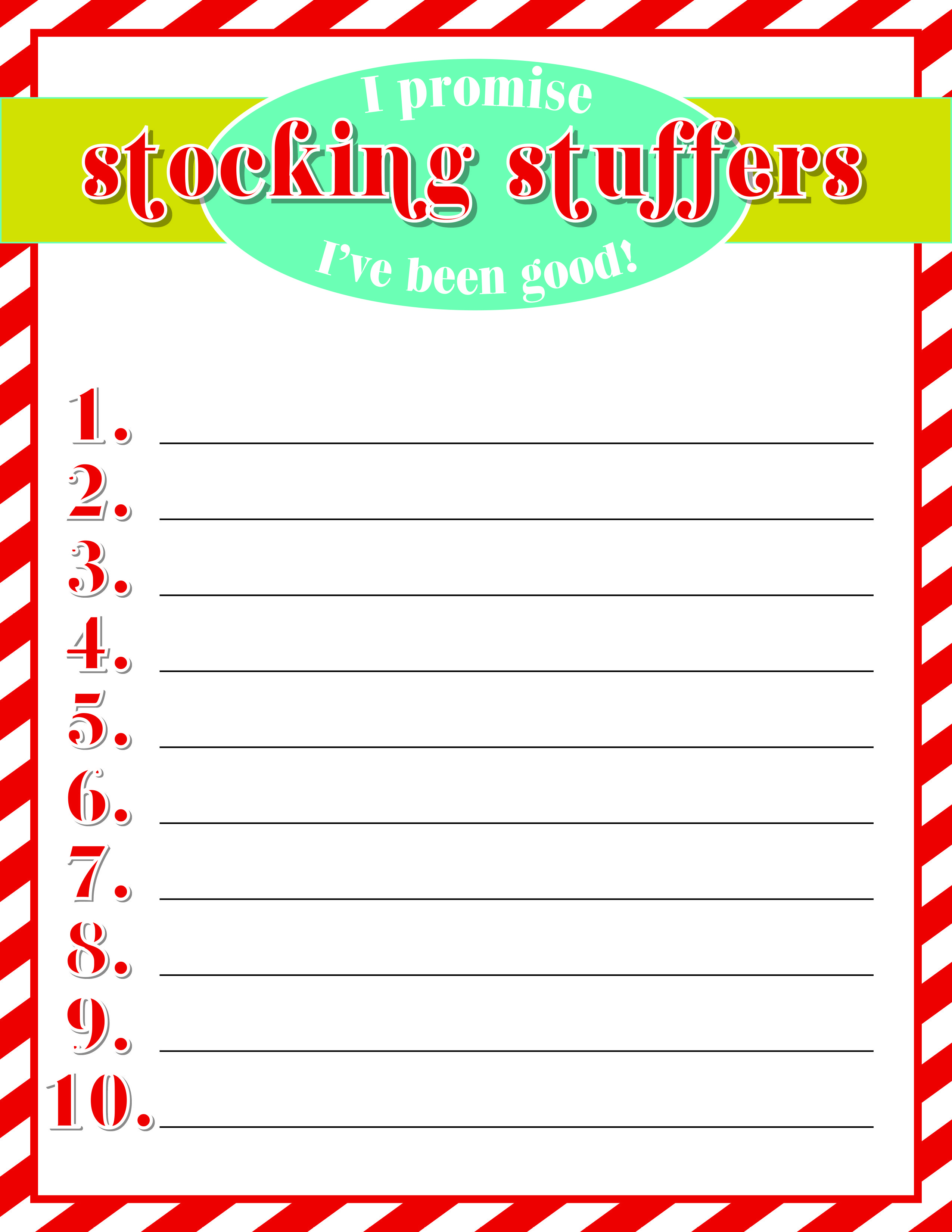 Free Printable Print Off Fill Out And Leave Sitting Out