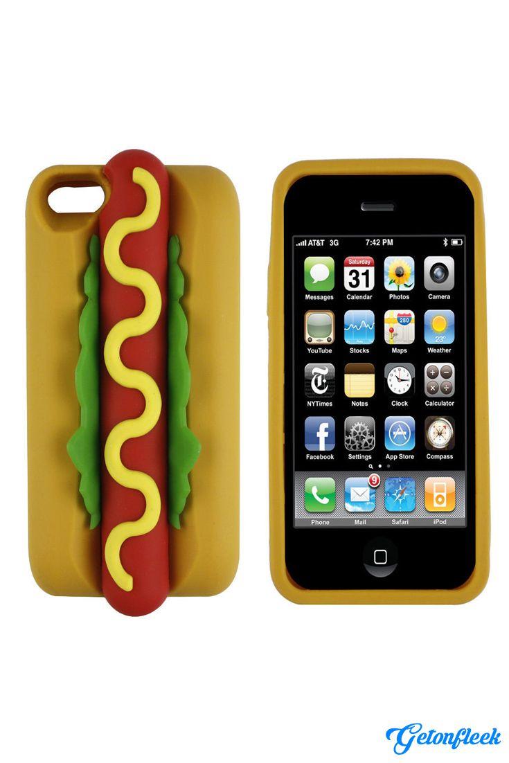 Hot Dog 3d Iphone Case 3d Iphone Cases Iphone Cases Cute Phone Cases